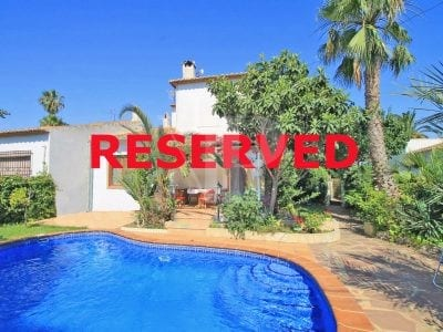 3 Bedroom Semi Detached Villa in Javea