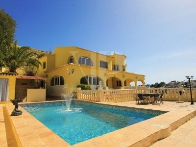 8 Bedroom Villa in Benissa Coast