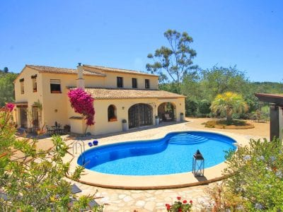 4 Bedroom Finca in Benissa