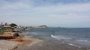 Vue sur la mer à Denia