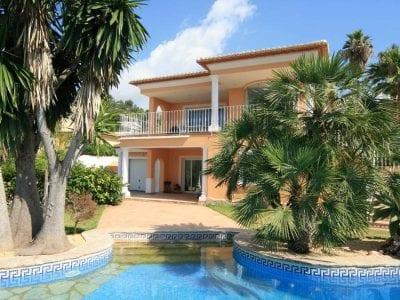 4 Schlafzimmer Villa in Moraira