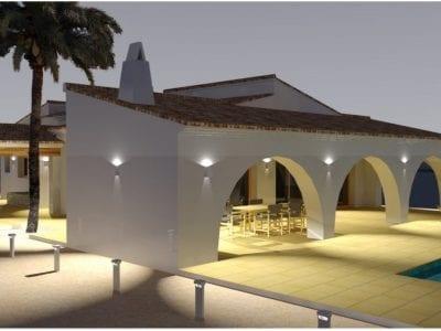 4 Schlafzimmer Landhaus in Moraira