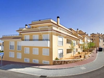 2 Schlafzimmer Apartment in Javea