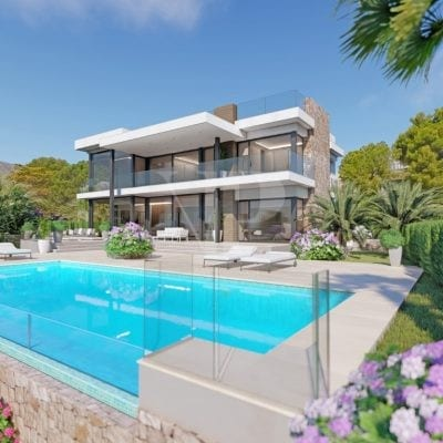 5 Bedroom Villa à Calpe