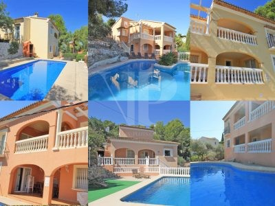 6 Villas for Sale in Javea